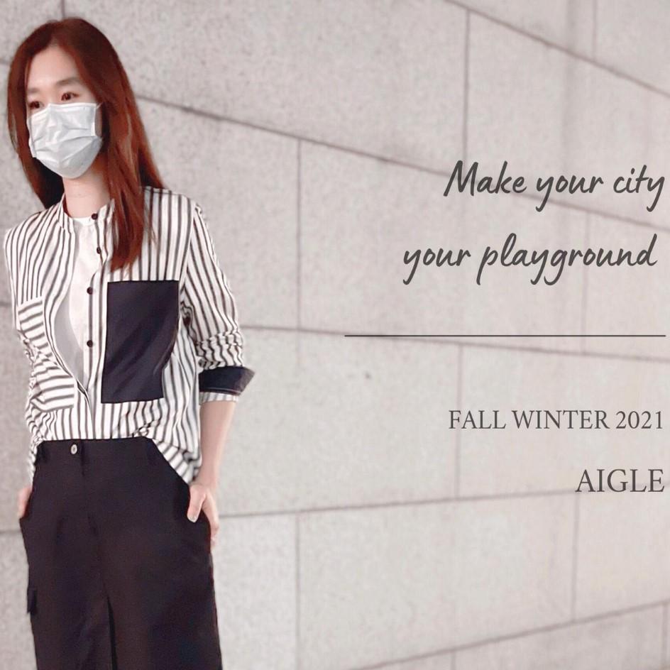 AIGLE  IFC專門店  NEW ARRIVAL迎接秋天的來臨