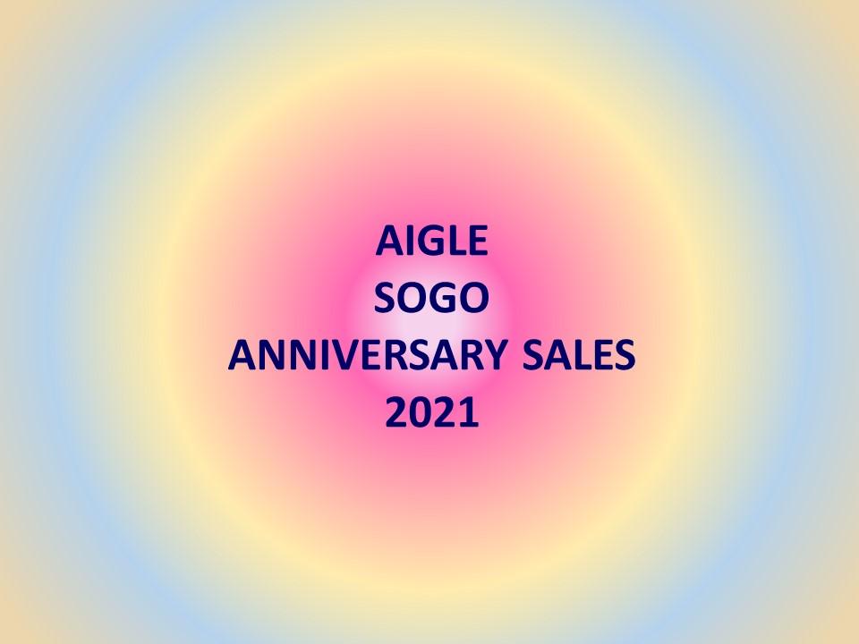 AIGLE SOGO DEPARTMENT STORE周年慶大減價