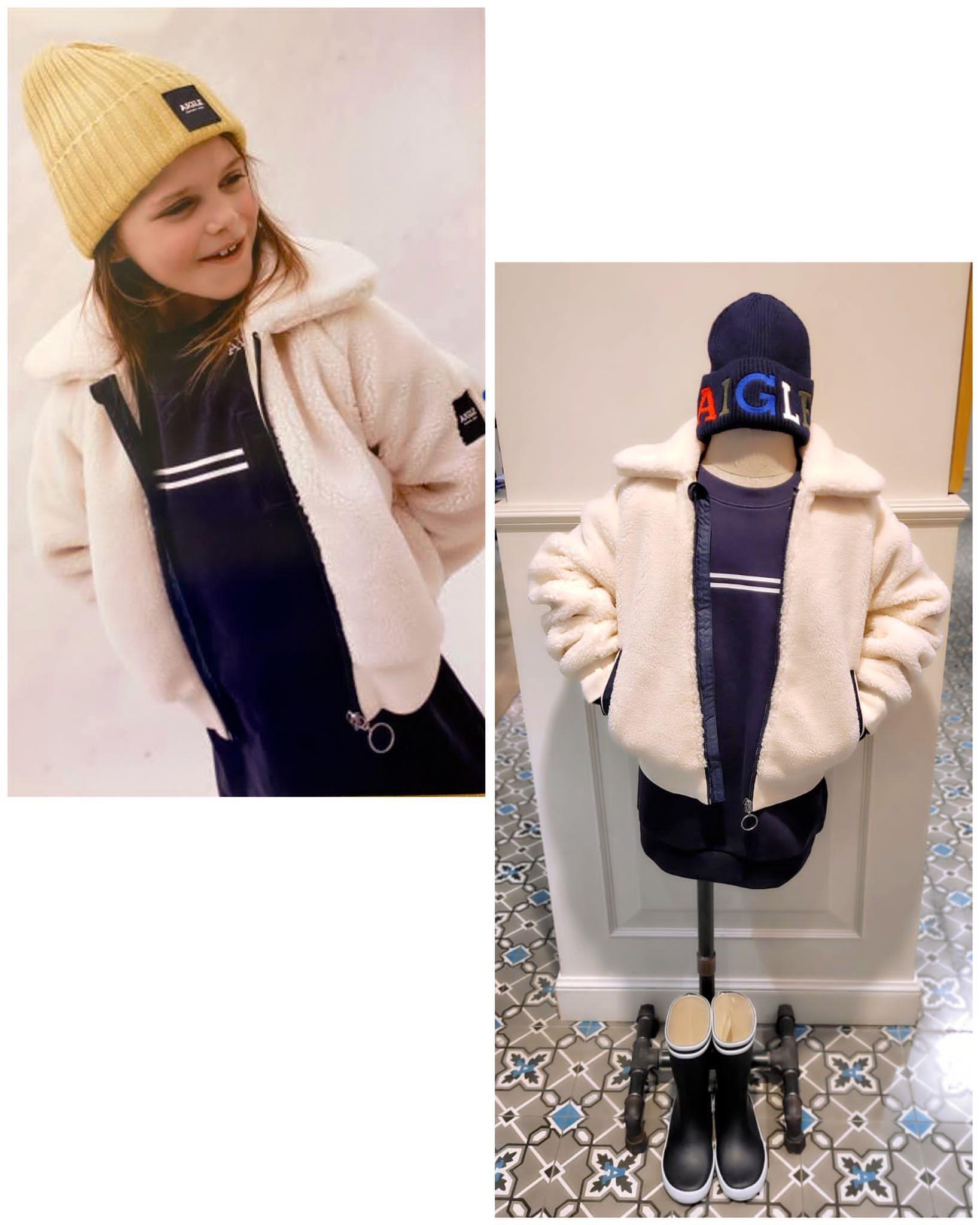 全新秋冬童裝系列已著陸AIGLE沙田新城市廣場專門店