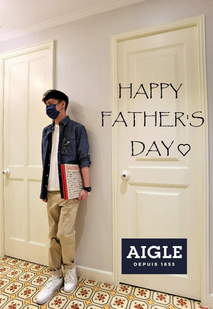 <AIGLE FESTIVAL WALK STORE > ( ͡❛͜ʖ ͡❛)✌HAPPY FATHER'S DAY✌