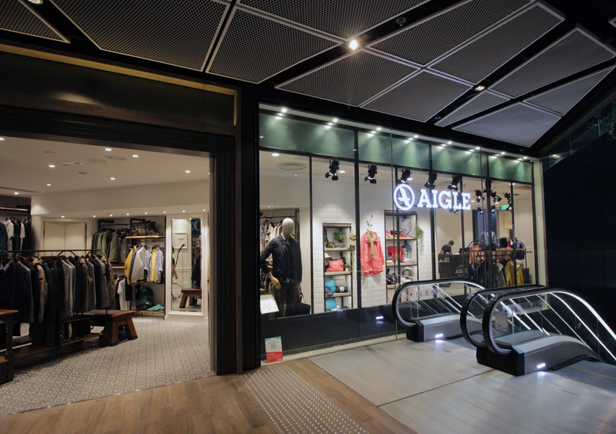 Grand launch of AIGLE's new store and Fall Winter new collection at Mong Kok The Forest!