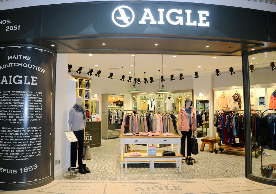 Here comes the grand opening of AIGLE at Yuen Long Yoho Mall together with the launch of Fall Winter new collection!