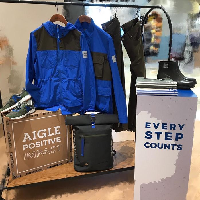 AIGLE南昌V WALK專門店 X FAGUO與你一起保護環境,邁向可持續發展的未來