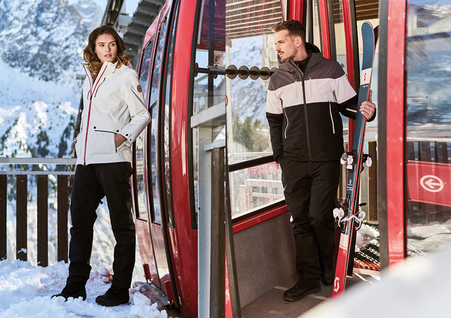 The French Outdoor Expert AIGLE Winter 2018 Collection