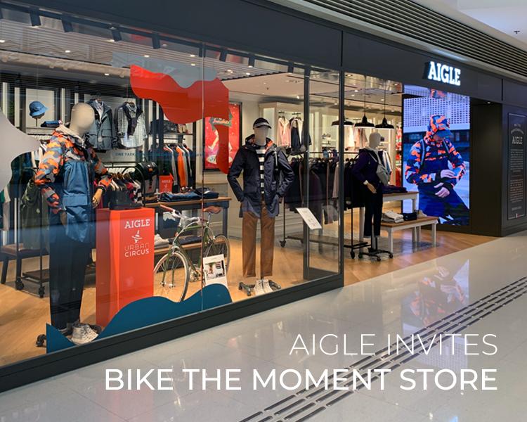 AIGLE Invites Bike The Moment