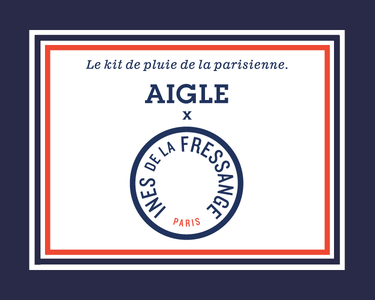 AIGLE x INES DE LA FRESSANGE First Collaboration