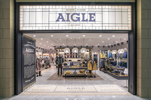 AIGLE'S NEW STORE ARE OPEN NOW!