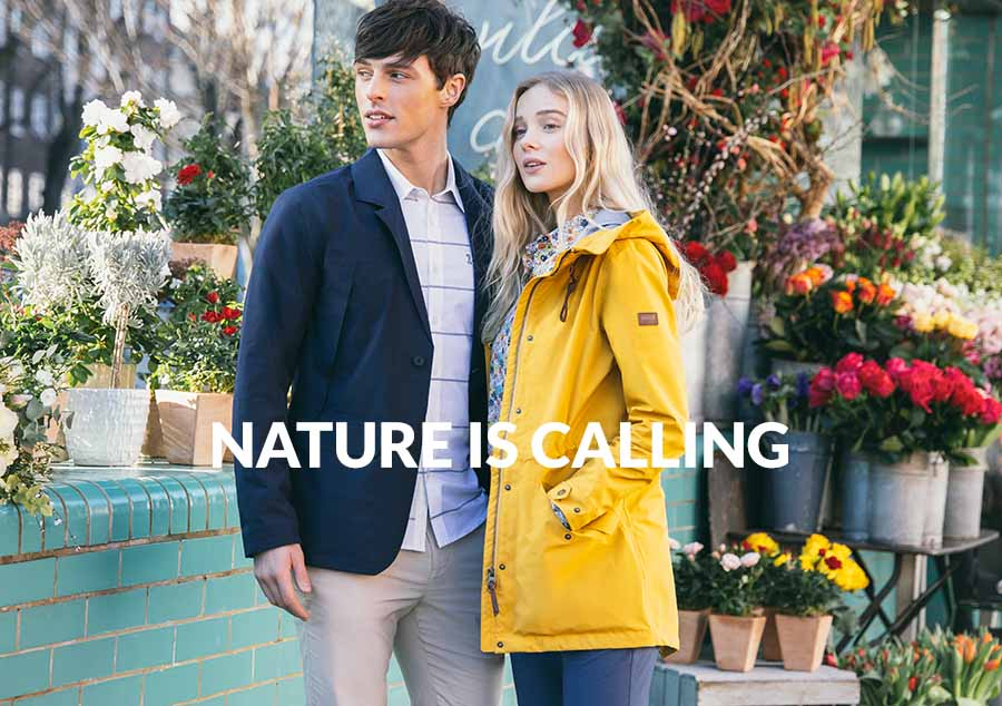 "AIGLE S/S 2019 ""NATURE IS CALLING"""
