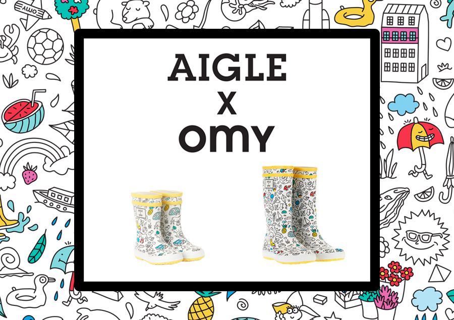 AIGLE x OMY Spring Summer Crossover Collection