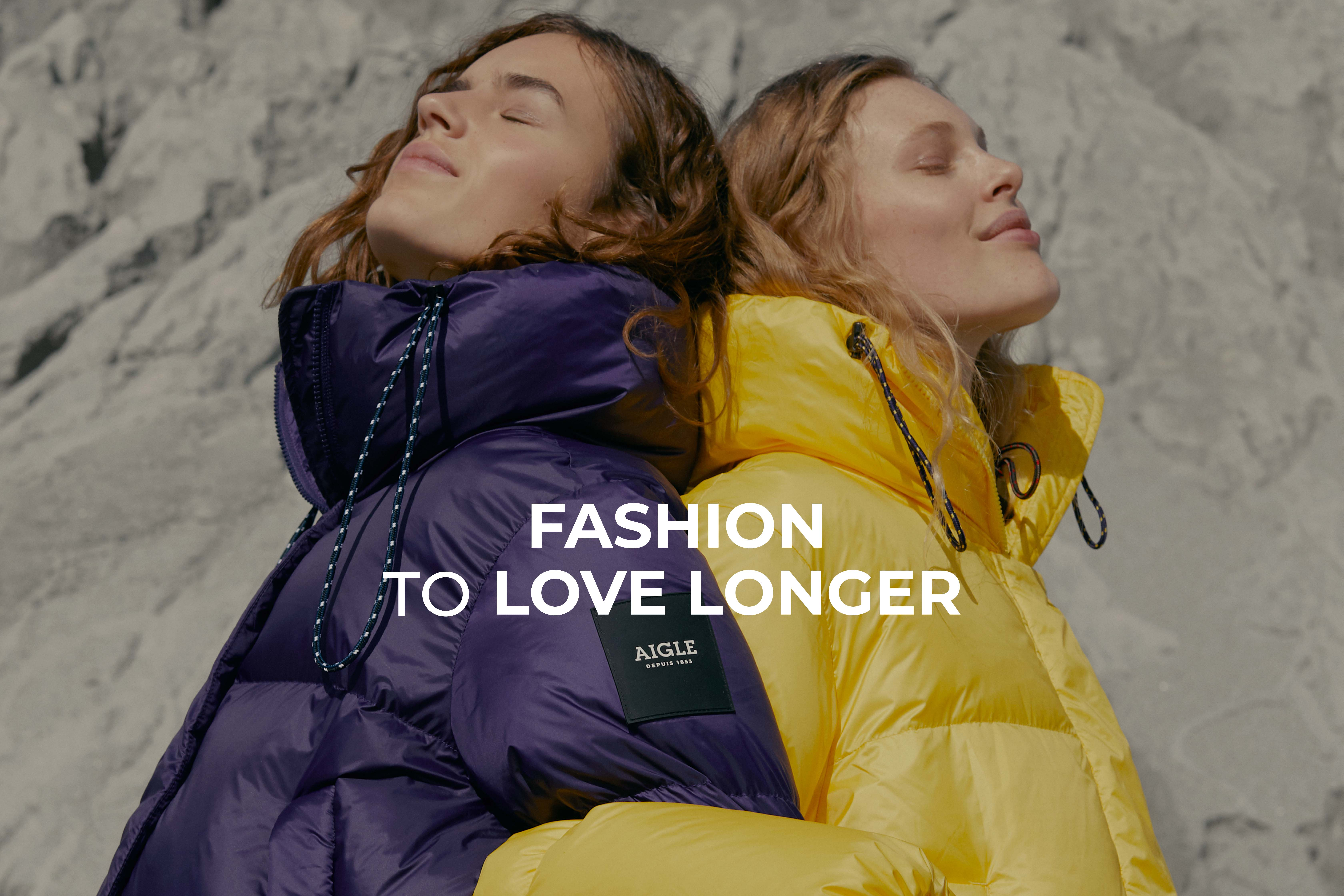 AIGLE STANDS THE TEST OF TIME - FASHION TO LOVE LONGER