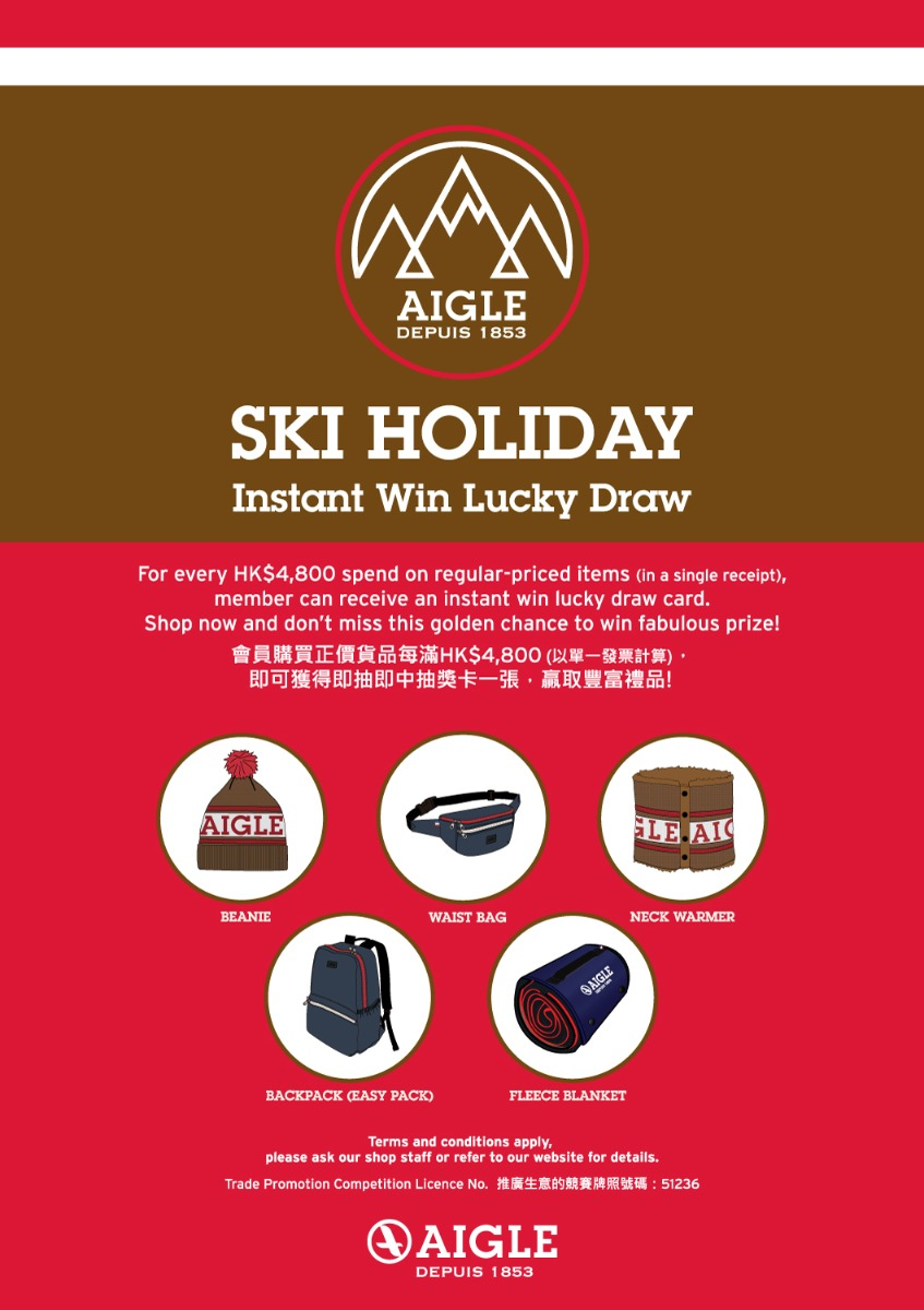 SKI HOLIDAY - HK PROMOTION